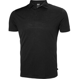 Helly Hansen HH Merino Light SS Polo Men black
